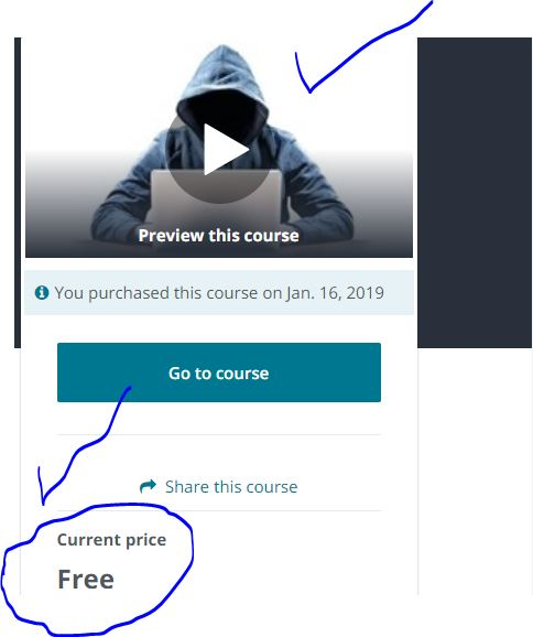 ethical hacking course free