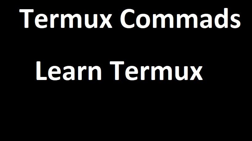 termux commands