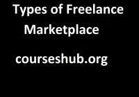 Types of a Freelance marketplace