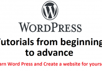 wordpress tutorials for beginners in hindi
