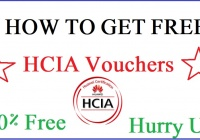 HCIA Vouchers for Free
